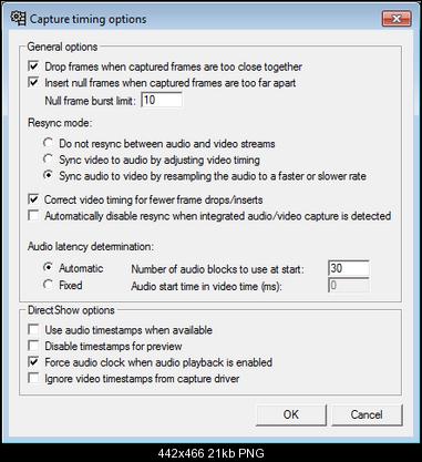 Hauppauge USB live 2 capturing with virtualdub and lagarith
