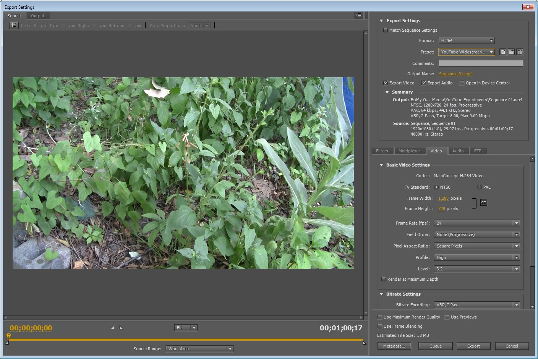 Adobe Premiere Pro CS 5 5 YouTube Export Project