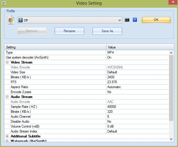 Format factory audio way to fast issue videohelp forum settings in format factory click image for larger version name ffsettingsg views 4849 size 618 ccuart Image collections