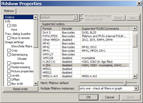 Media Player Codec Pack for Microsoft Windows