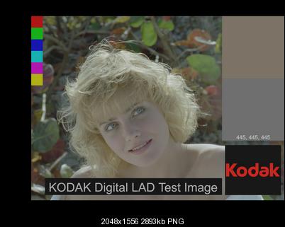 KODAK Digital LAD Test Image
