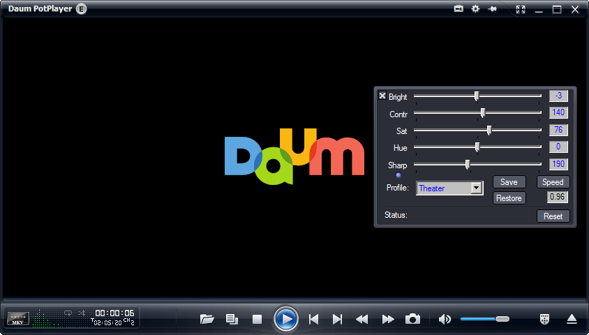 DAUM PotPlayer skin customizations - VideoHelp Forum