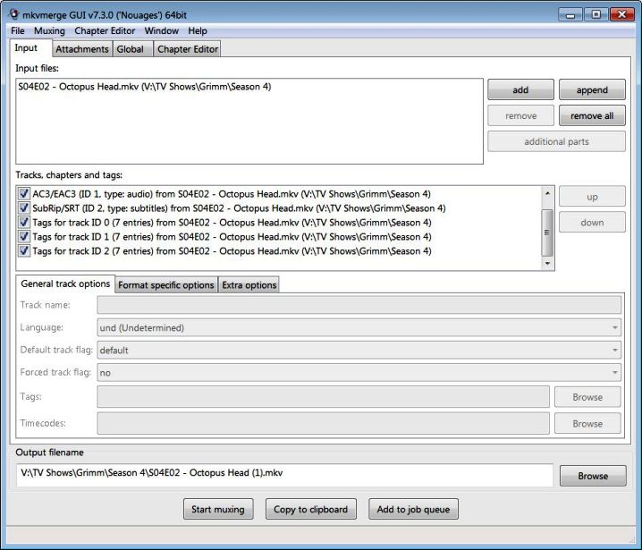 MKV Batch Metadata Removal Tool - JMkvPropedit?? - VideoHelp