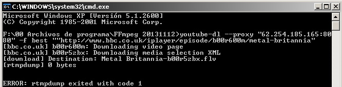 How to download a video from BBC iPlayer - VideoHelp Forum