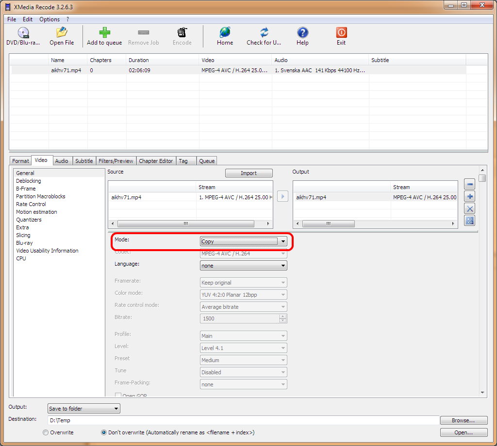 How to cut any video with Xmedia Recode - VideoHelp Forum