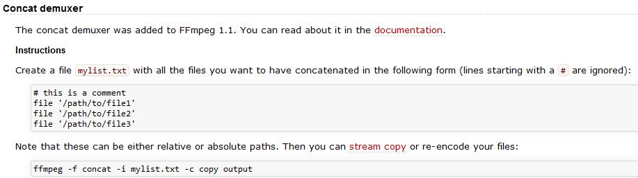 Concatenating/Joining/Appending MKV Files????? - VideoHelp Forum