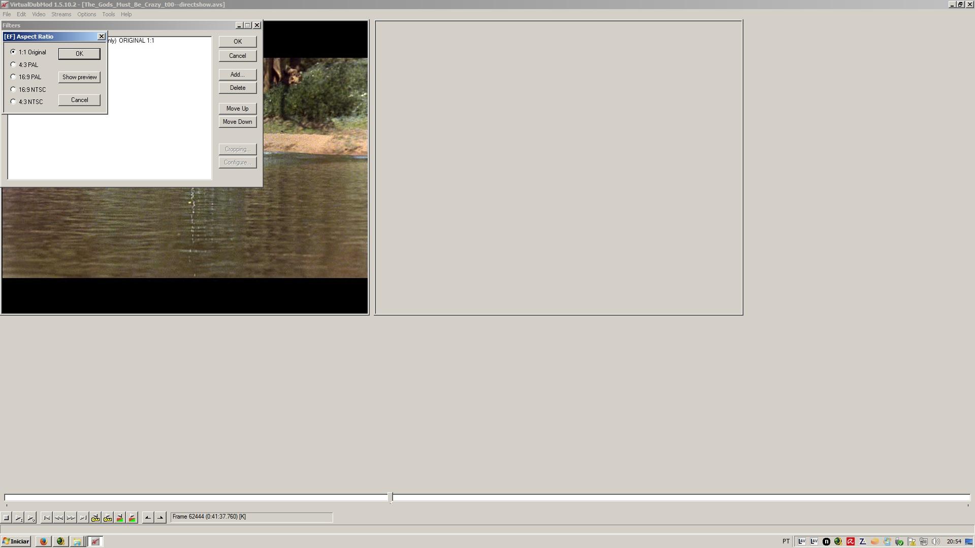 VIrtualDub issue with aspect ratio - VideoHelp Forum