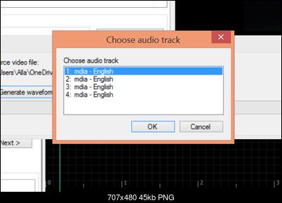 Subtitle Edit - waveform problem - VideoHelp Forum