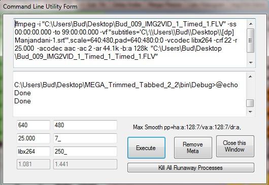 Batch Run Hard code subtitles to video files - VideoHelp Forum