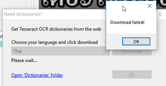 Downloading new OCR dictionary to Subtitle Edit 3 5 4 - VideoHelp Forum