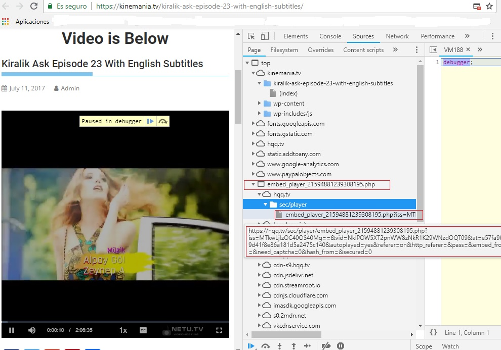 Help me to download video from netu tv - VideoHelp Forum