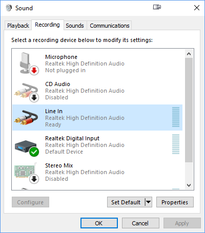 Obs Audio Input Capture Not Working