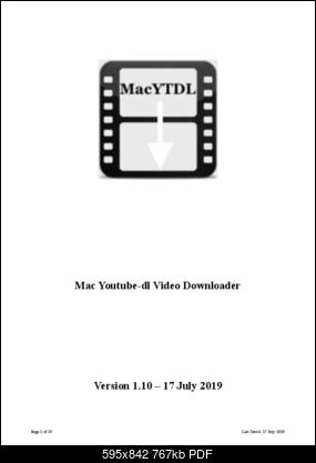 MacYTDL – youtube-dl GUI for Apple Macs - VideoHelp Forum