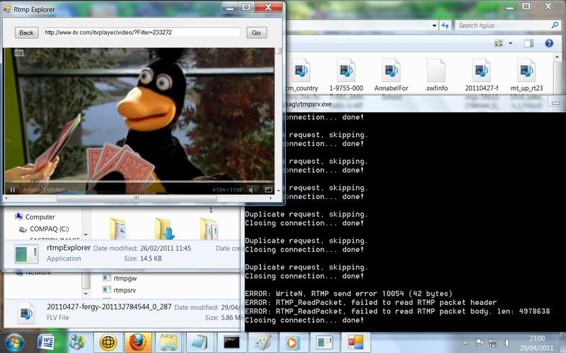ustream using url snooper