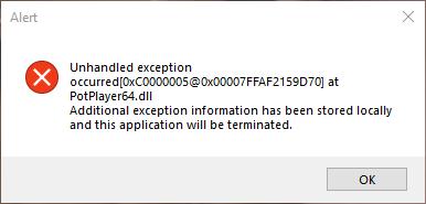 Name:  PotPlayer - Error.png Views: 172 Size:  7.9 KB