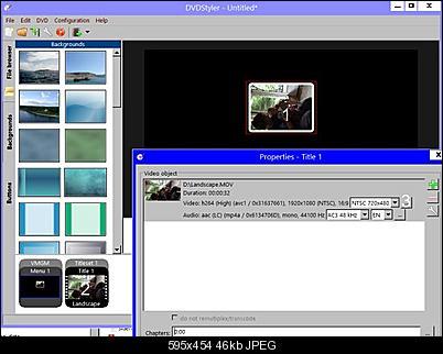 Click image for larger version  Name:DVDStyler1.jpg Views:225 Size:45.8 KB ID:38456