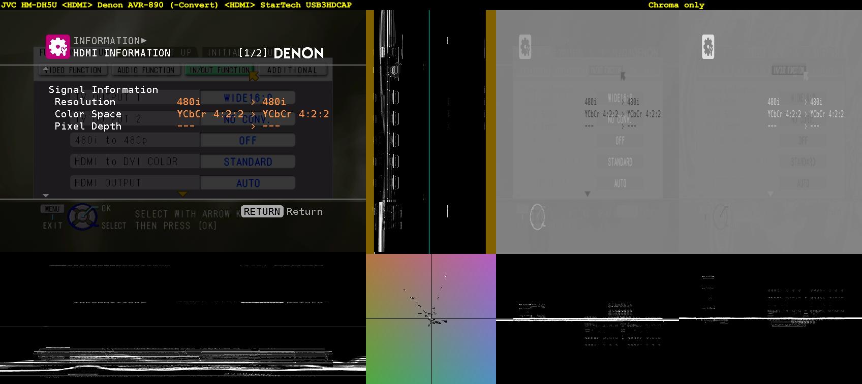 Click image for larger version  Name:Menu + Info - JVC HM-DH5U =HDMI= Denon AVR-890, -Convert =HDMI= StarTech USB3HDCAP.png Views:3862 Size:329.2 KB ID:35271