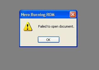 Name:  Nero ISO Issues - Error Message 2.jpg Views: 605 Size:  7.5 KB