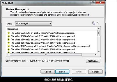 Click image for larger version  Name:DVD recompression warnings.jpg Views:69 Size:86.0 KB ID:35021