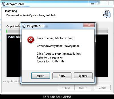 Click image for larger version  Name:avisynth install problem a.jpg Views:37 Size:71.6 KB ID:45348