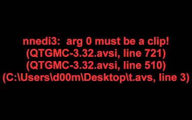 Name:  QTGMC error.png Views: 695 Size:  12.1 KB