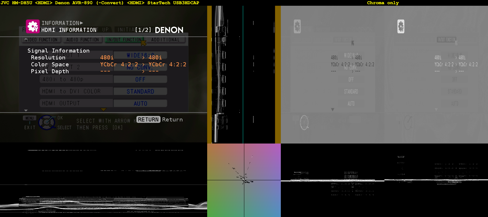 Click image for larger version  Name:Menu + Info - JVC HM-DH5U =HDMI= Denon AVR-890, -Convert =HDMI= StarTech USB3HDCAP.png Views:3230 Size:329.2 KB ID:35271