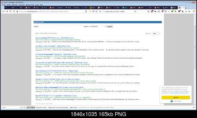 Click image for larger version  Name:VideoHelp search sorted by date unreliable.png Views:234 Size:164.7 KB ID:55066