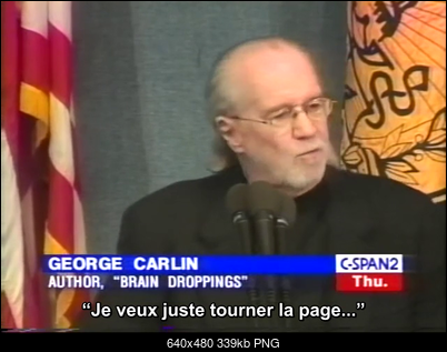 Click image for larger version  Name:GCarlin C-Span extrait 10m39s-25m06s + ST Fr [ASS].mp4 - 00_07_57 -2019-08-19-22h08m14s532.png Views:93 Size:338.6 KB ID:49864