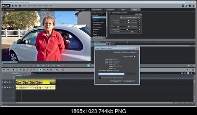 """Click image for larger version  Name:MVD - GammaHDR avec mode vidéo """"mode par défaut�, aperçu en cours d'export.png Views:22 Size:743.8 KB ID:47599"""