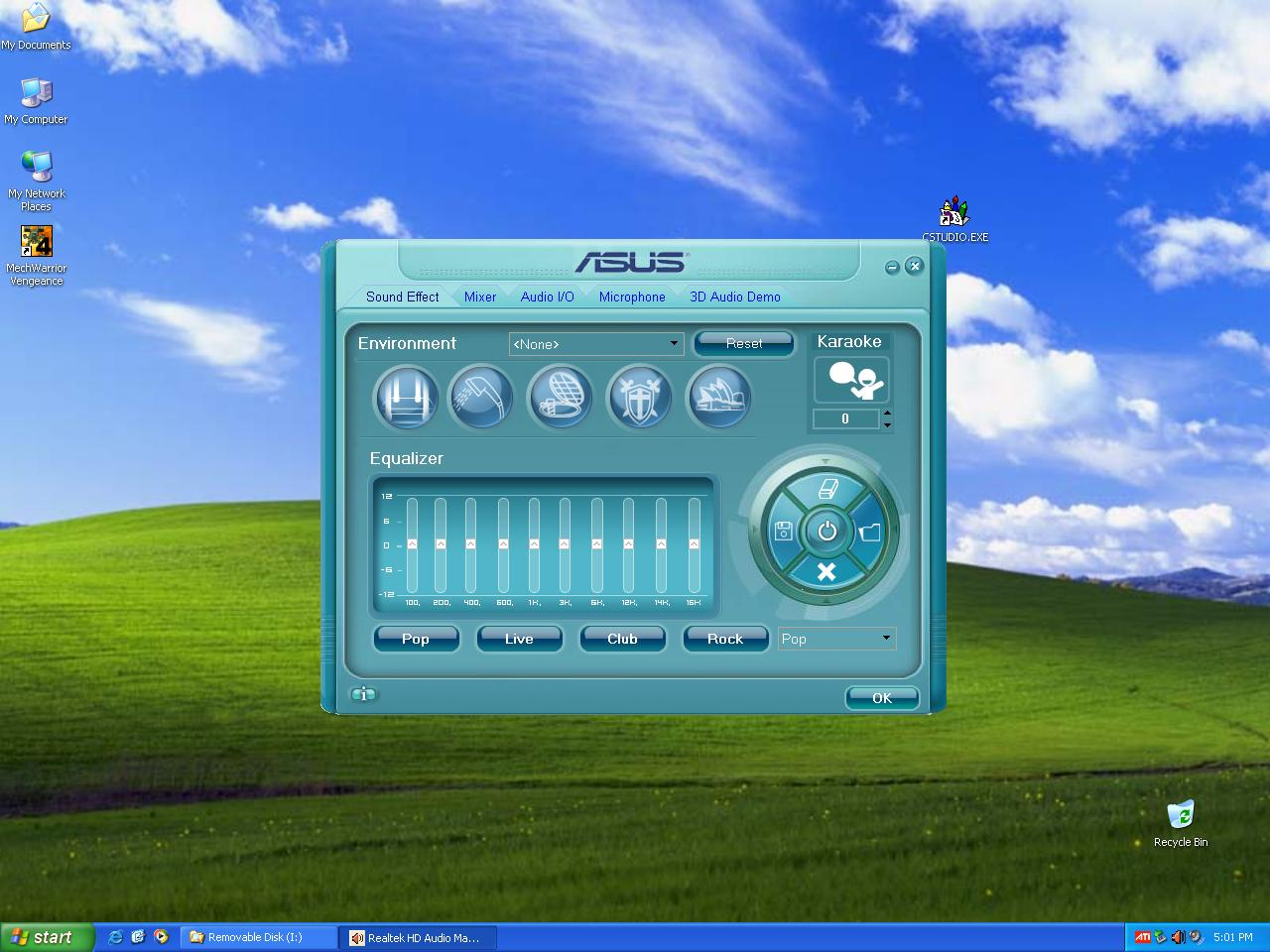asus audio driver for windows 7 64 bit
