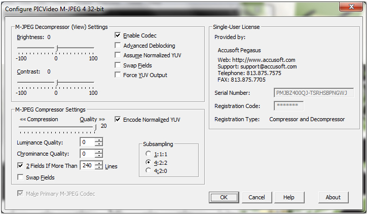 how to fix errors in a mpeg video