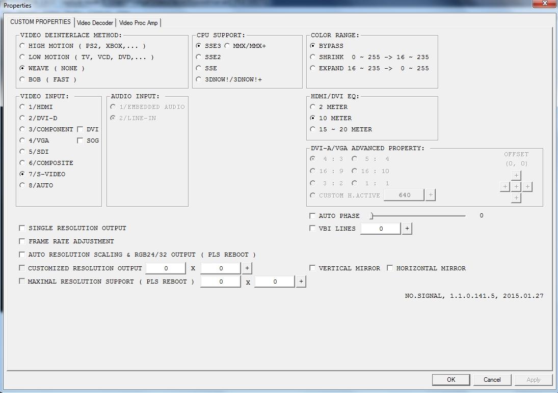 Startech USB3HDCAP opinions - VideoHelp Forum