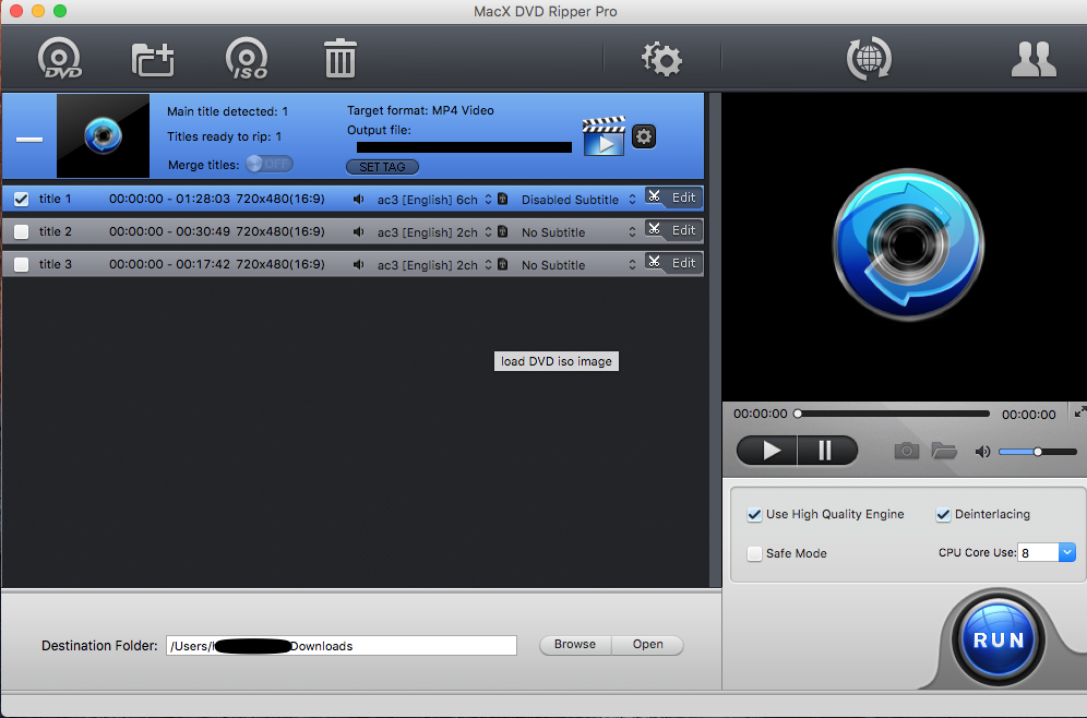 MacX DVD Ripper Pro Not Ripping 6CH Audio - VideoHelp Forum