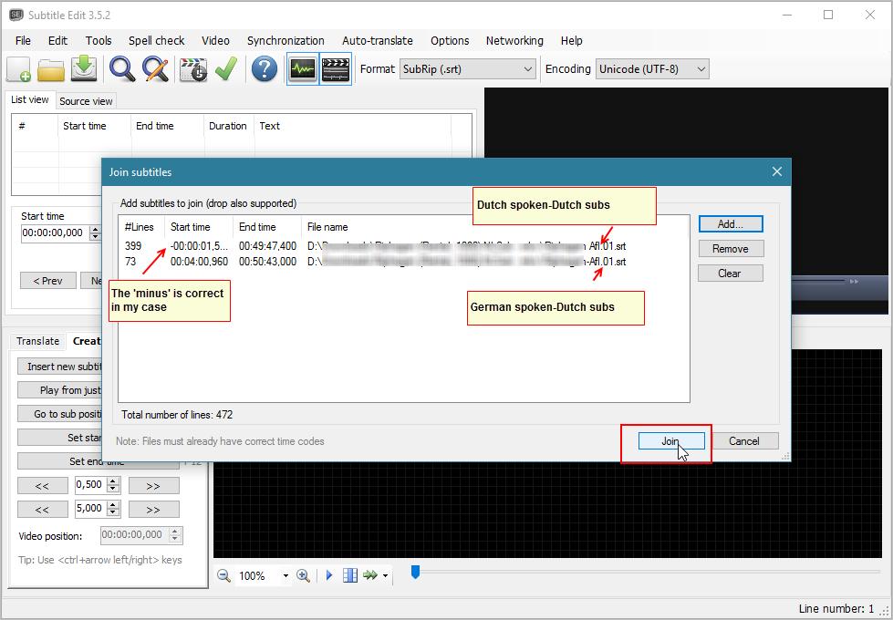 How to timeshift a subtitle ( mkv/ srt) - VideoHelp Forum