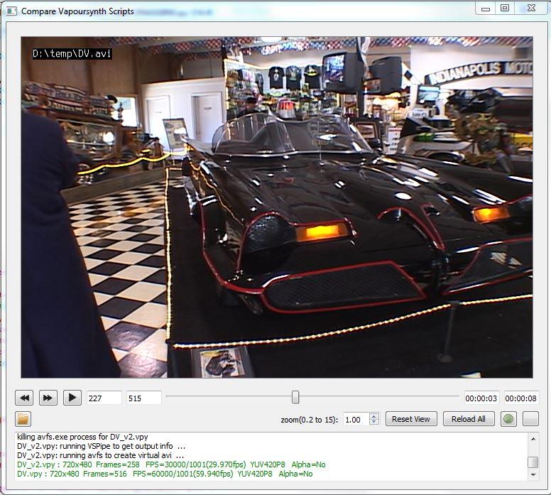 Qt Vapoursynth simple viewer example? - VideoHelp Forum
