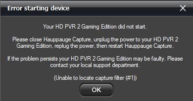 hauppauge hd pvr drivers windows 7 64 bit