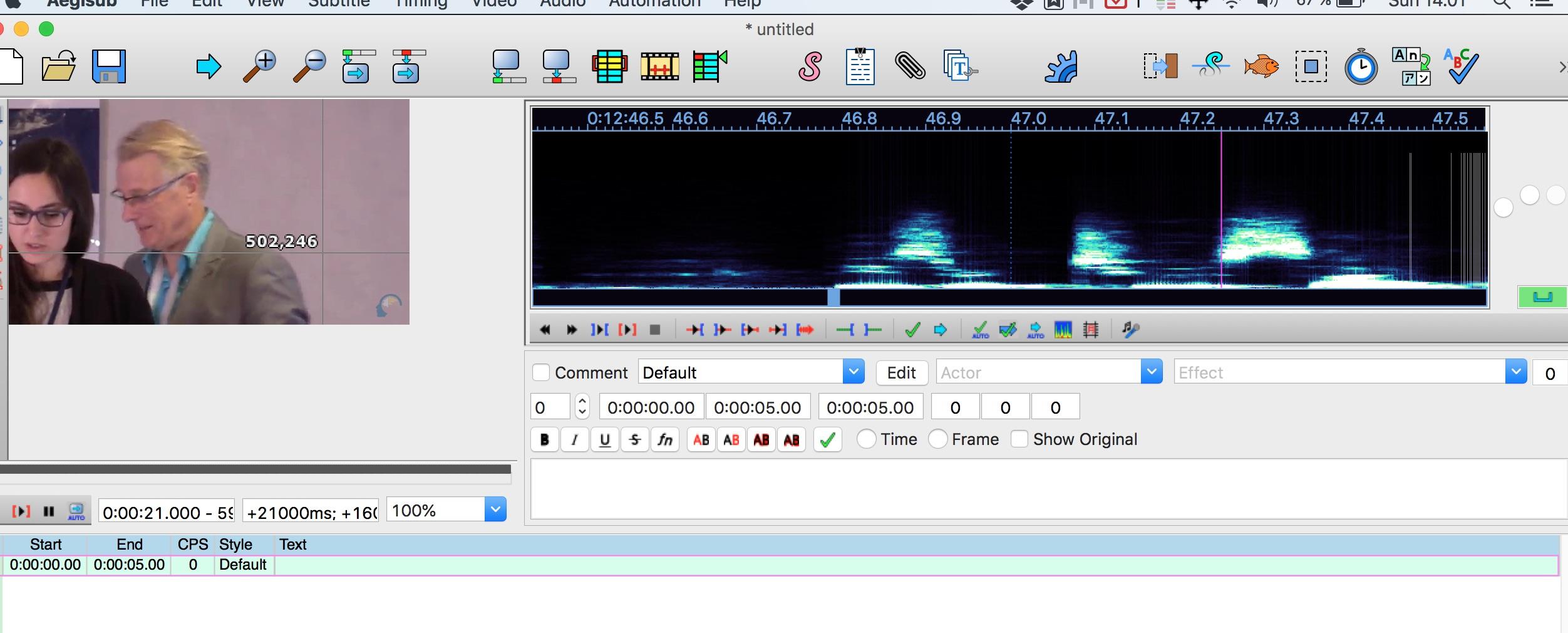 Help with Aegisoft audio zoom slider not working on MacBook