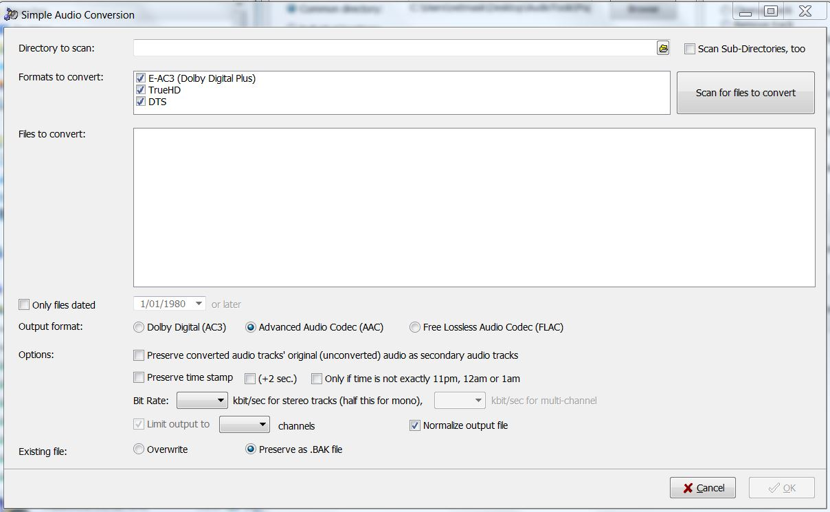 Batch adding AAC audio track to MKV - VideoHelp Forum