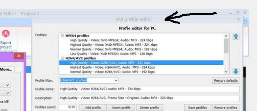 youtube needs mp4 container but my VE does not have it - VideoHelp Forum