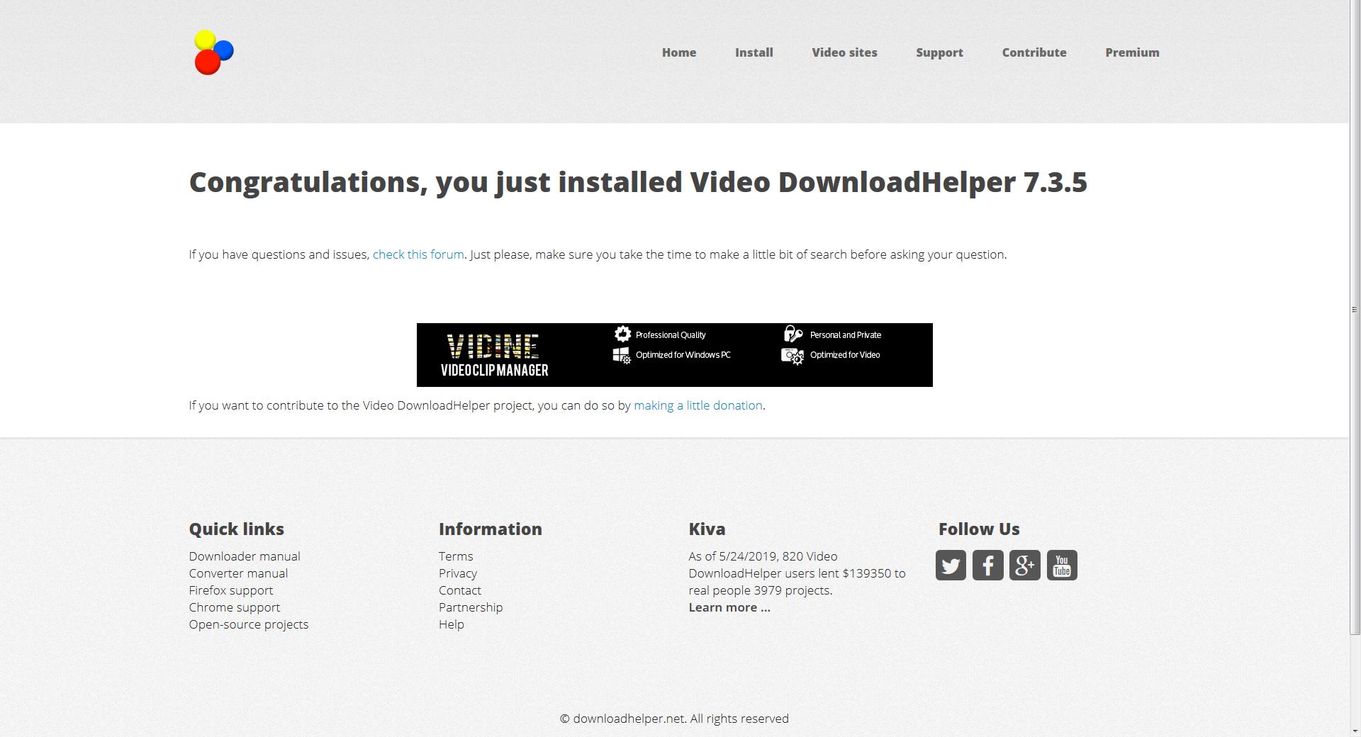downloadhelper converter chrome