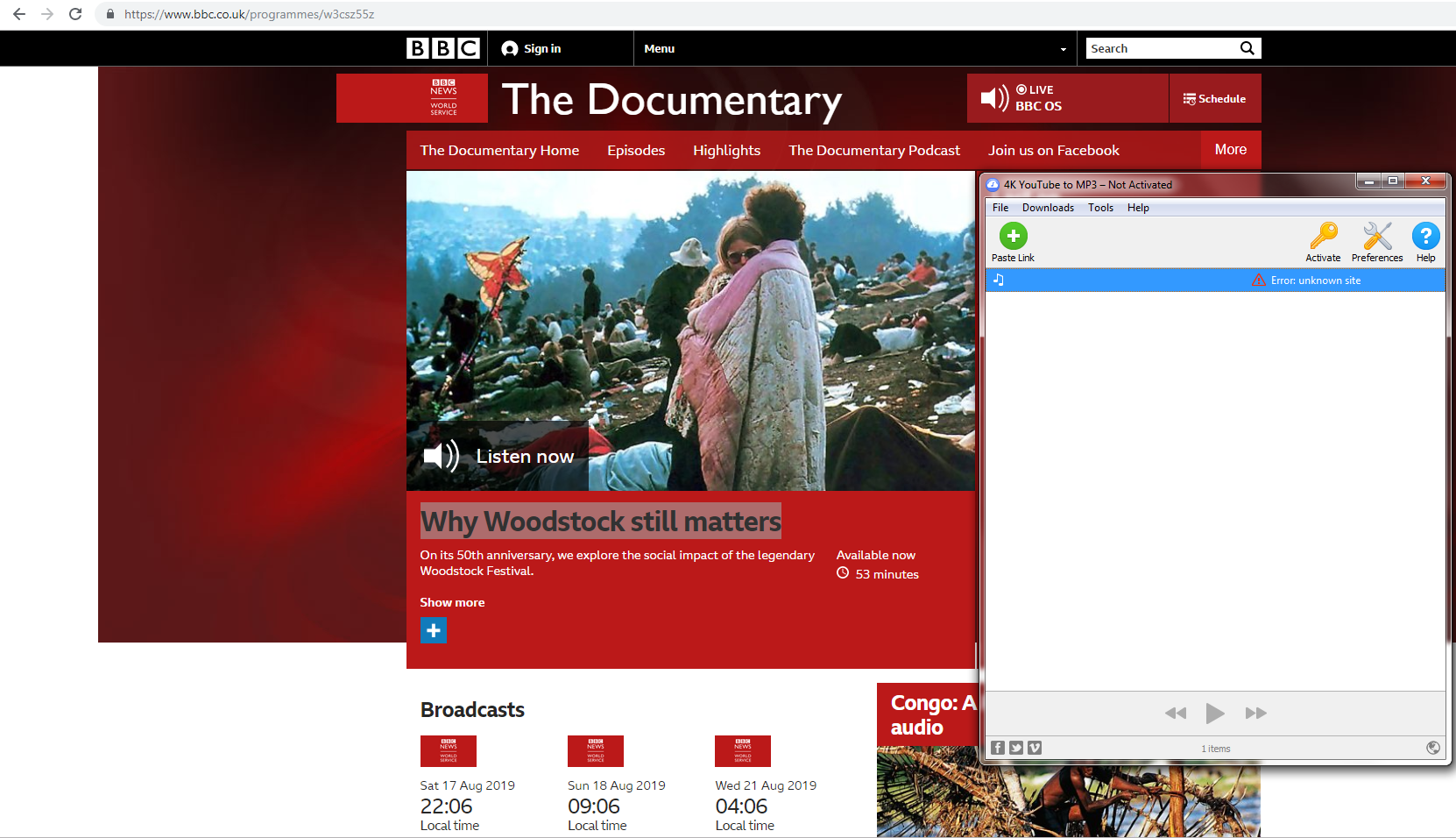 How to DL BBC world service