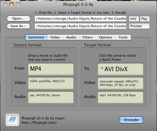 MP4 to avi No Sound - VideoHelp Forum