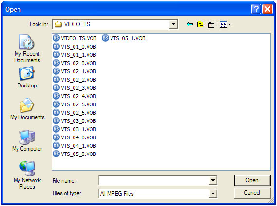 how to open.bup file extension