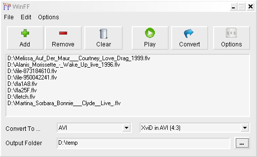 How to record streaming flash video, edit and save as AVI, MP4, FLV