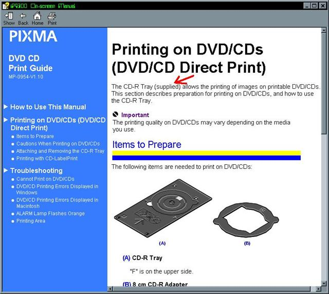 canon cd label print software download