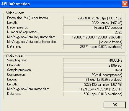 Windows Media Player won\'t play my DV clip - VideoHelp Forum