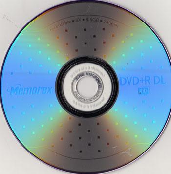 Can I overwrite Verbatim 5GB 4X DVD+R DL