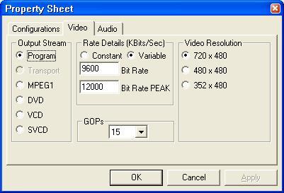 12 0Mbit/sec MPEG-2 Capture? - VideoHelp Forum
