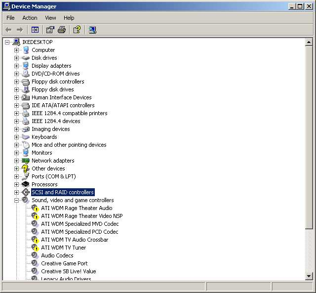 ati t200 unified avstream driver windows 7