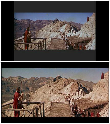 Convert letterboxed widescreen to anamorphic widescreen